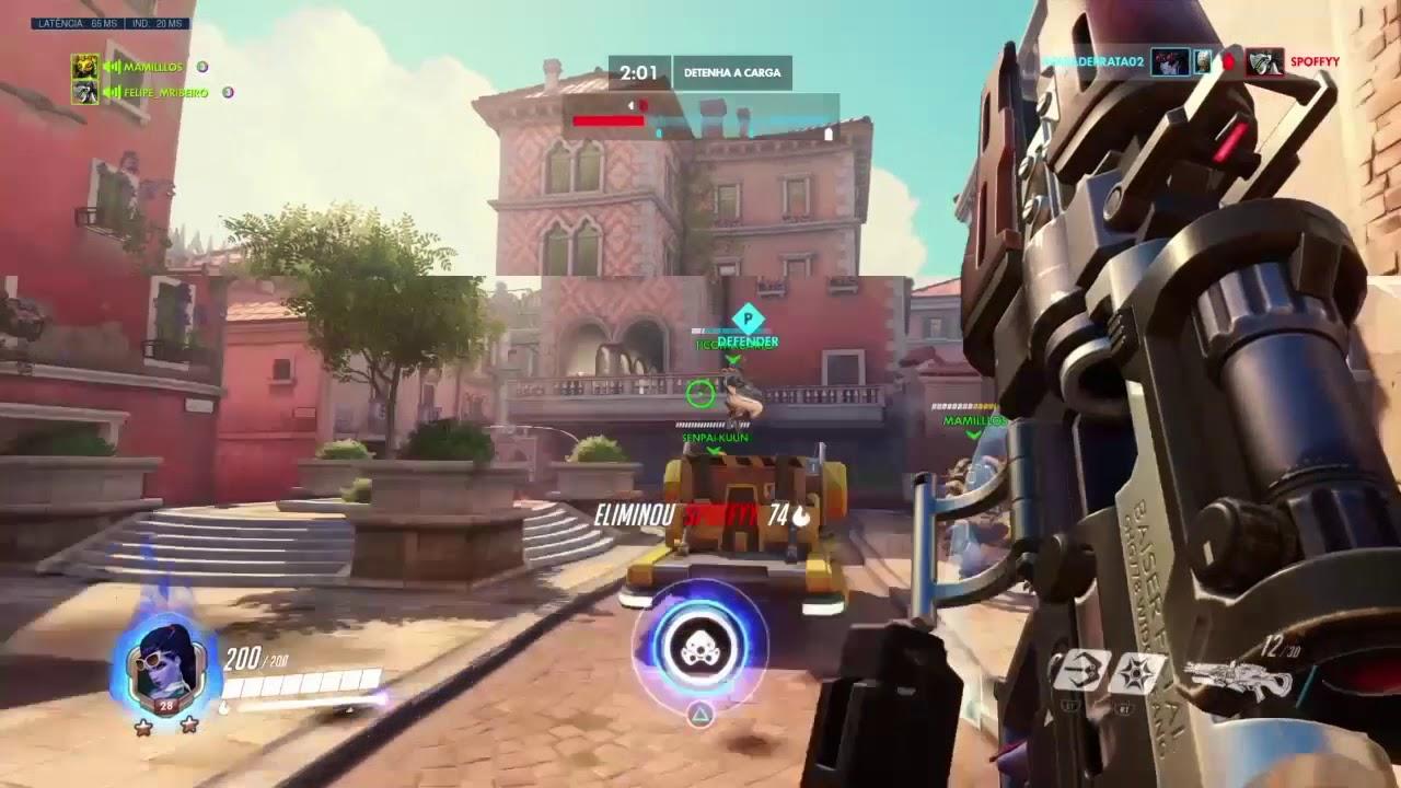 Overwatch Widow Gameplay - YouTube