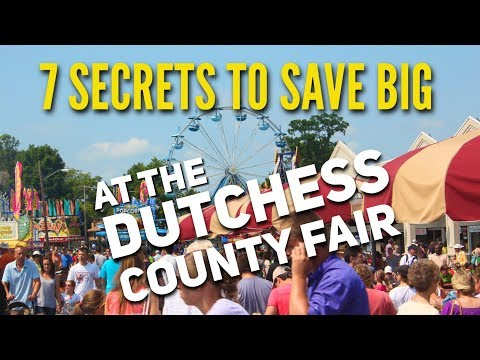 7 Tips For Saving Money at the Dutchess County Fair
