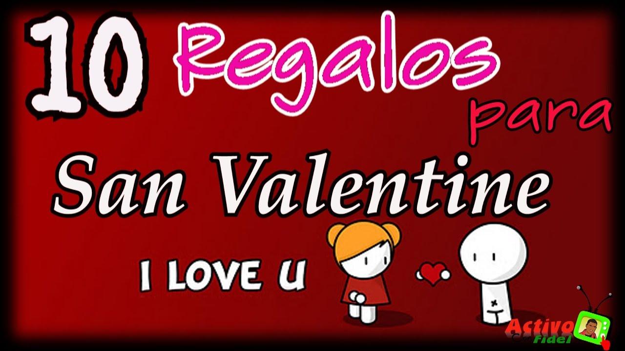 10 regalos para mujeres en san valentine youtube - San valentin regalos ...
