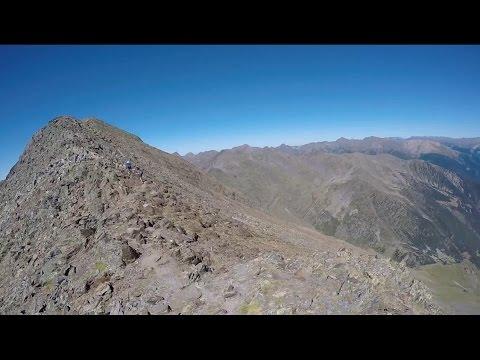 Climbing Andorra highest mountain (2943m) POV View GoPro Hero4