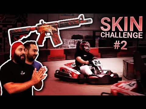 Racing For Skins!! (Skin Challenge #2)