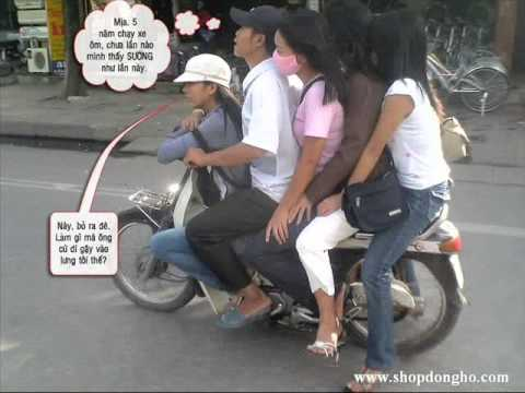Chỉ có ở Vietnam !!!!(Funny Clip: Only in Vietnam)