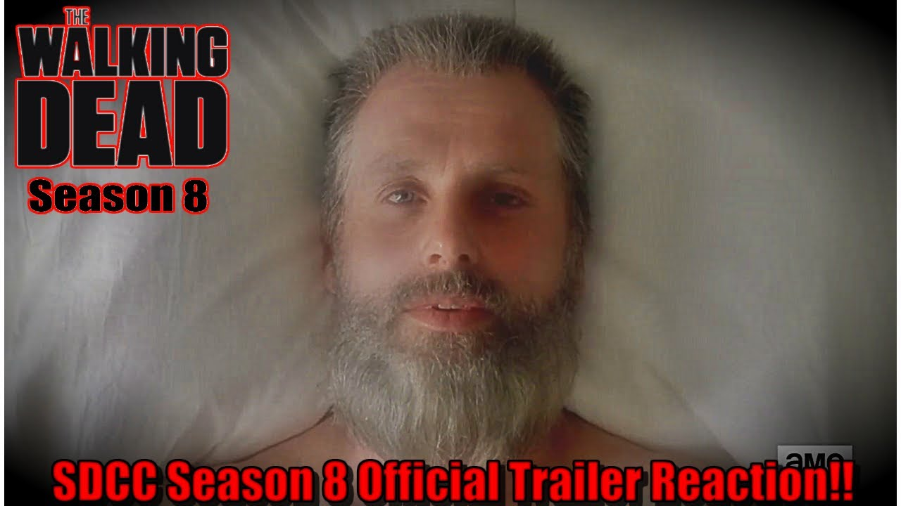 the walking dead season 8 sdcc season 8 trailer reaction youtube. Black Bedroom Furniture Sets. Home Design Ideas