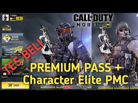 7 Tes Beli Premium Pass Character Elite Pmc Call Of Duty Mobile Garena Youtube