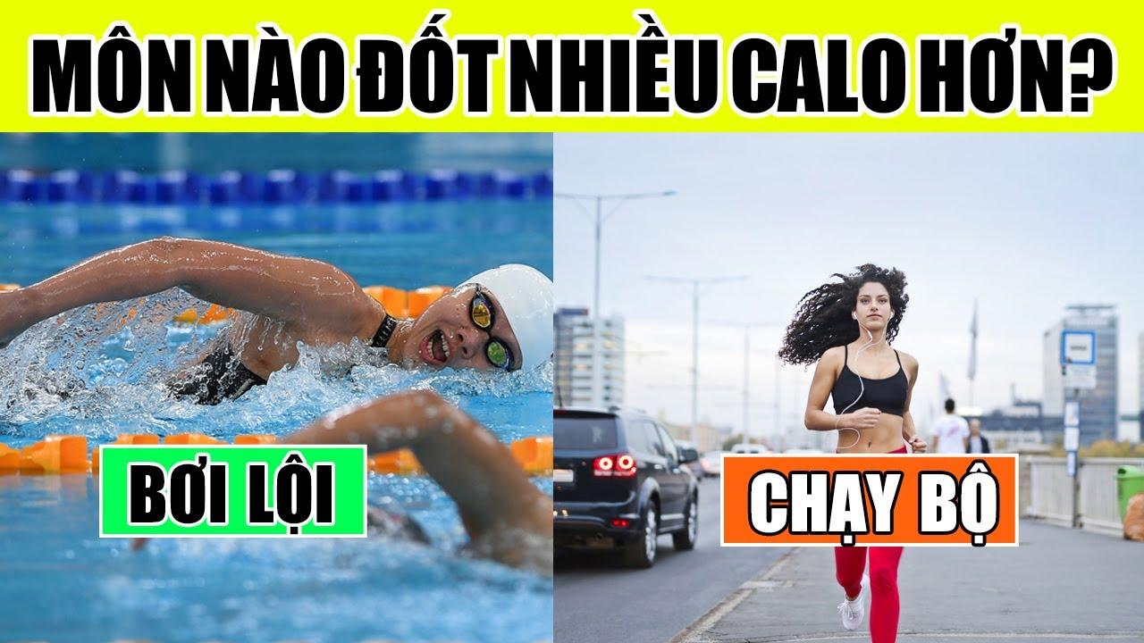 Bơi lội hay chạy bộ – Bộ môn nào đốt cháy calo nhiều hơn giúp giảm cân hiệu quả hơn?