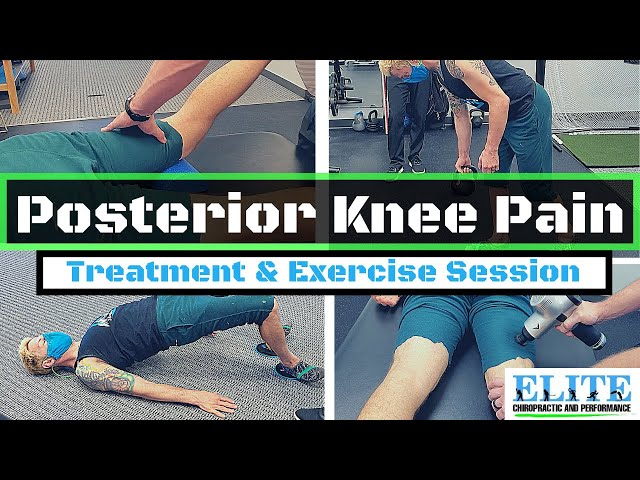 Chiropractor Treats Knee Pain   Chesterfield Chiropractor