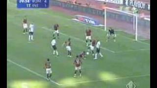 Roma 6 Inter 2 Italia Cup Final 09/05/07