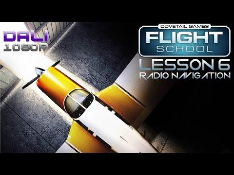 Dovetail Games Flight School Lesson 6 Radio Navigation PC Gameplay 60fps 1080p