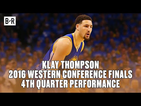 Klay Thompson's Epic 4th Quarter Performance   2016 WCF Game 6