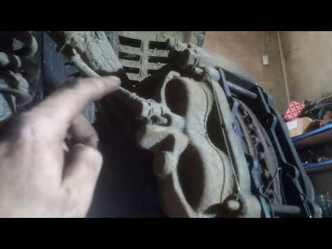 Ремонт тормозного суппорта тойота ленд крузер / brake caliper toyota land cruiser