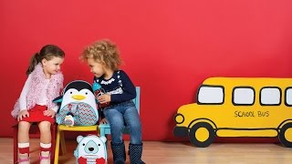 Review: Skip Hop Zoo Winter Backpack & Plush Set Backpack Penguin One Size
