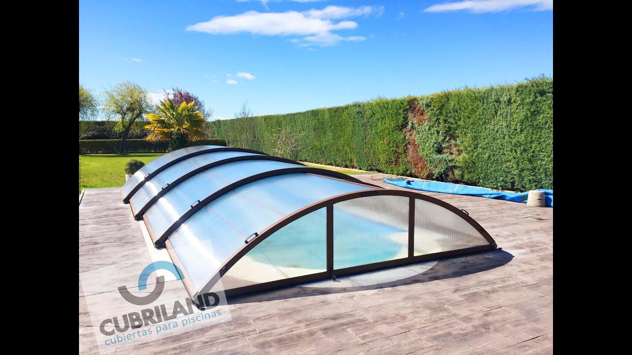 Cerramientos de piscina de aluminio y policarbonato - Cerramiento para piscinas ...