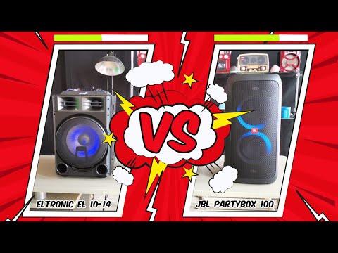Сравнение Eltronic EL-1014 C JBL Partybox 100! Реши сам как звучат колонки и напиши в комментариях!