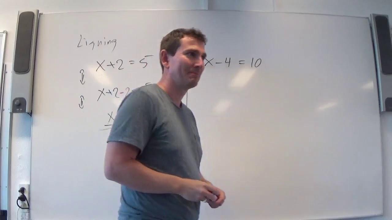 Mat C 1.2a Ligninger grundlæggende