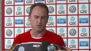 SwansTV - John Longmire press conference - May 4