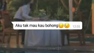 Story wa fake chat sedih mermaid in love