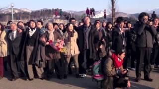 戸山高校 校旗降納式での「最後の最後の校歌」-20130331