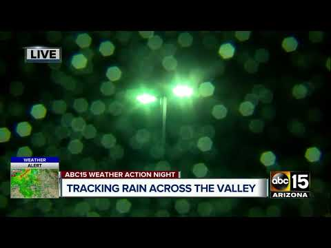 Team coverage of rain across the Valley