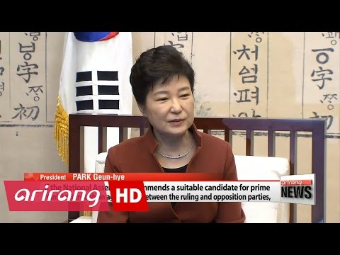 ARIRANG NEWS BREAK 20:00 President Park asks parliament to recommend mew prime minister nominee
