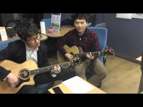 The power of your love /Acoustic Guitar Taylor 814 616 Ltd Korea Ver. Duets :주께 가오니