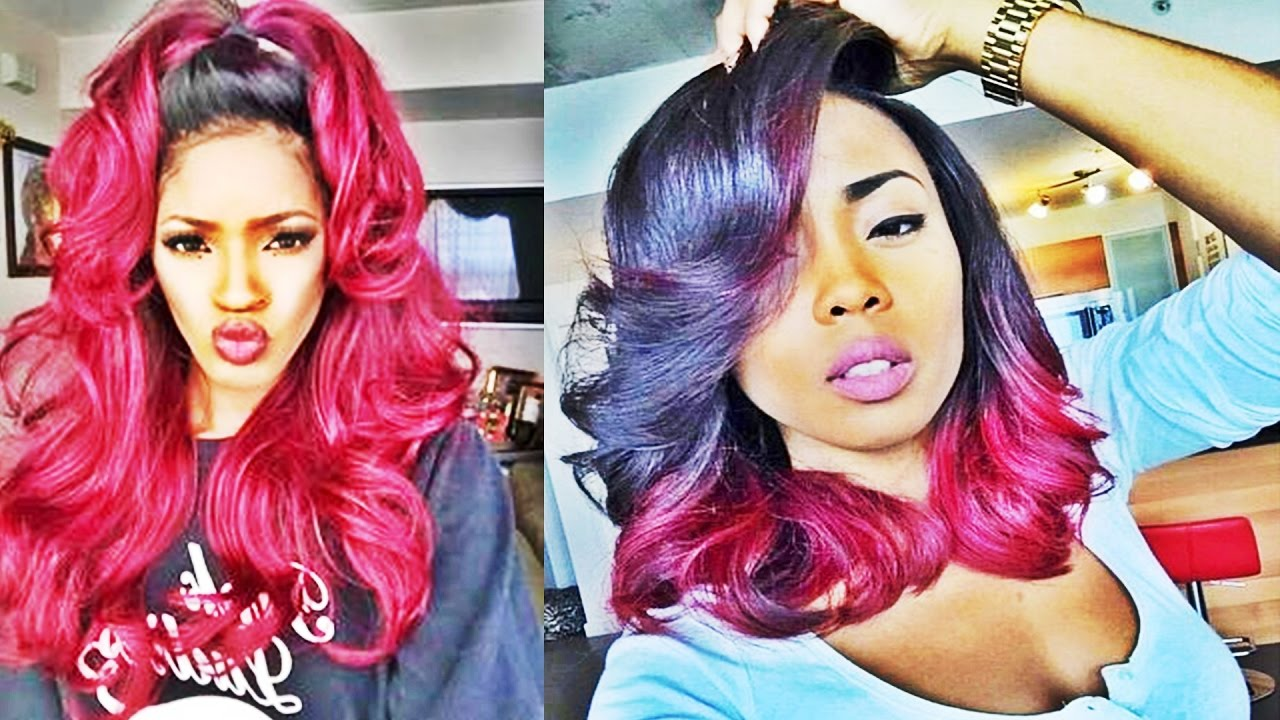awesome ombre hairstyles for black women
