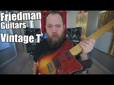 Friedman Guitars Vintage T - Demo