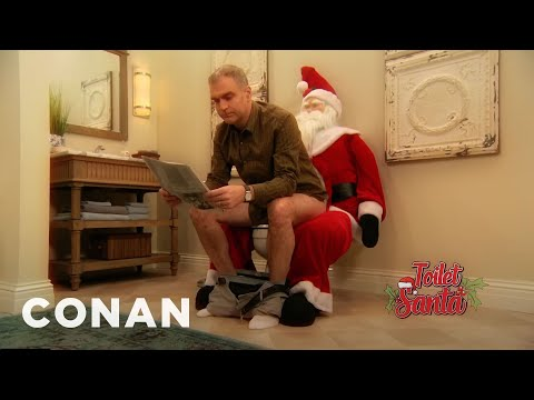 The 'Toilet Santa' Is The Product For Adults Who Miss Childhood