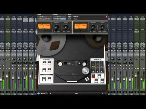 Universal Audio UAD Ampex ATR-102 - Extended Video Review