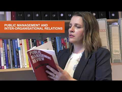 Public management and inter-organisational relations