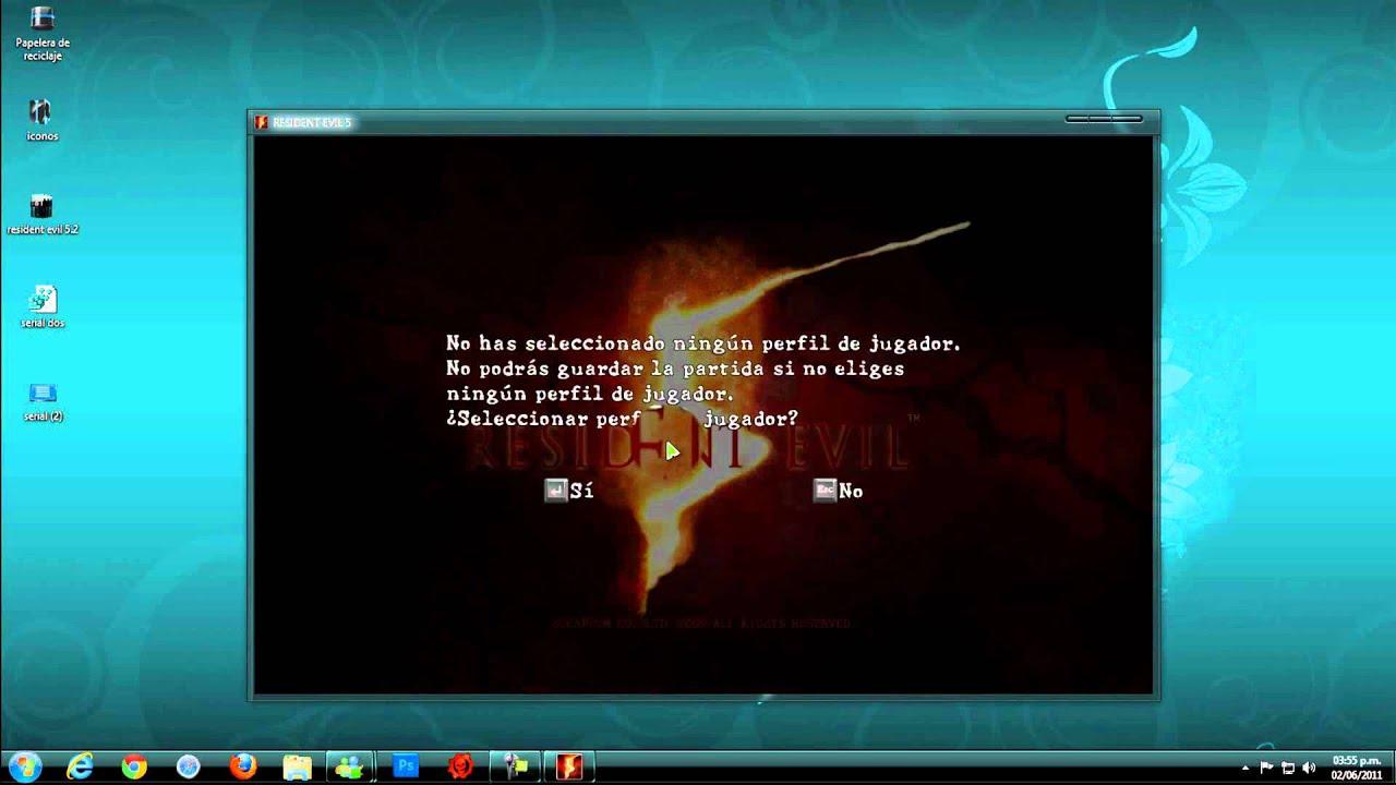 Serial Para Jugar Resident Evil 5 Via Games For Windows