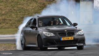 BMW M5 V10 Drifting Fast - HD