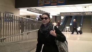 How to hitchhike in Europe with Michelle Trachtenberg speaking Russian