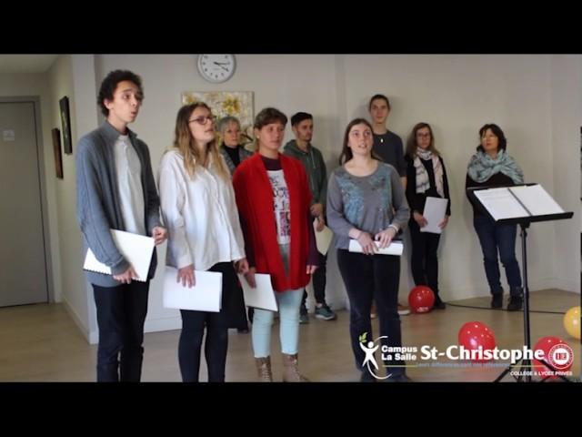 La chorale du Campus La Salle Saint Christophe