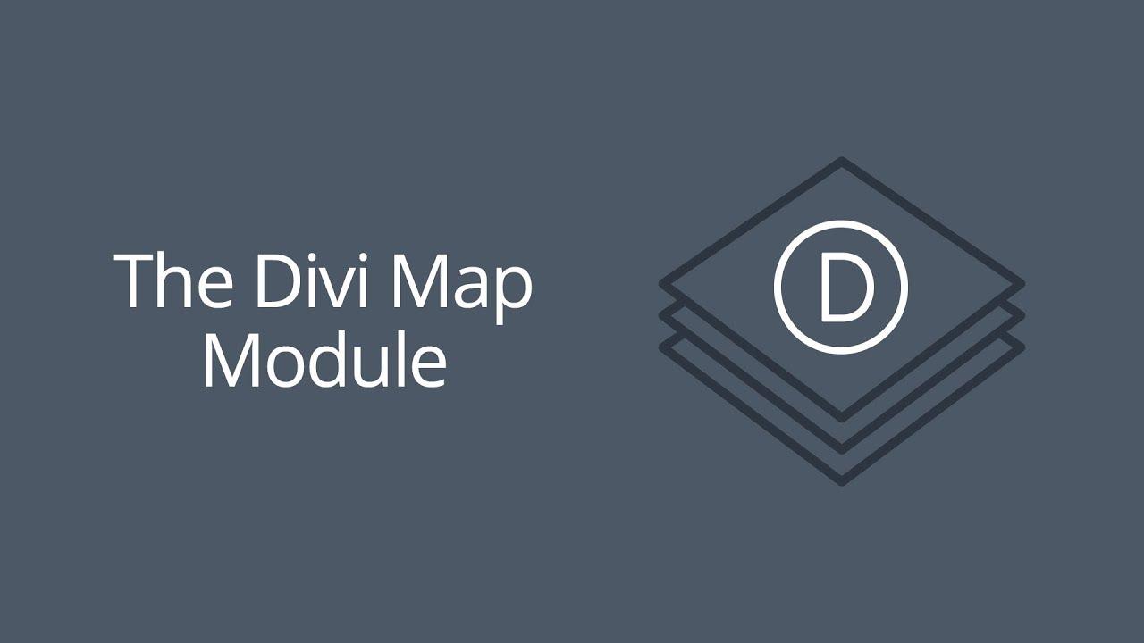 The Divi Map Module | Elegant Themes Documentation