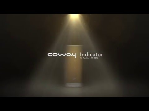 coway newly launched air purifier indicator