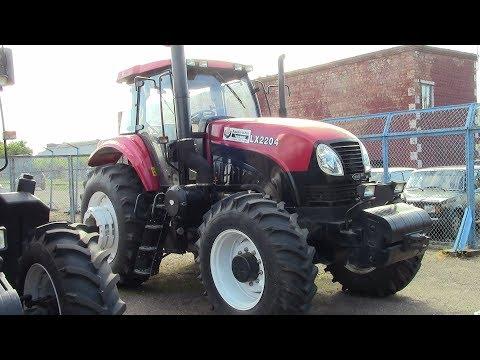 Новый трактор YTO LX2204 - аналог трактора МТЗ 2022. Обзор 2017