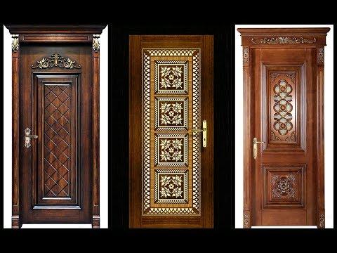 Top 35 Modern Wooden Carved Door Designs for Home 2018- Plan N Design