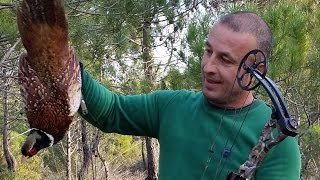 Discovery Jeep Albania - 16th part (Gjueti Fazani me hark,Catch & Cook Pheasant Hunting With bow)