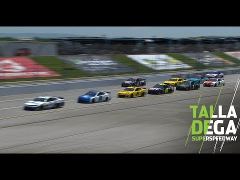First look at rules package at Talladega