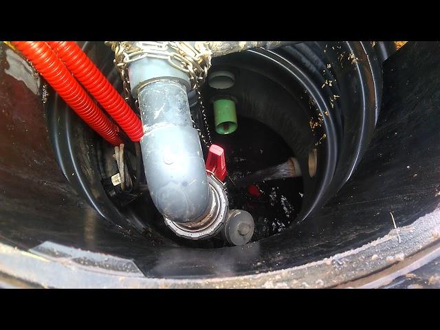 Rejet d'une micro station d'épuration GRAF Klaro XXL 150 EH, après 3 ans d'utilisation