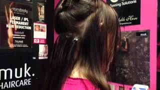 MicroTape Hair Extensions Application Thumbnail