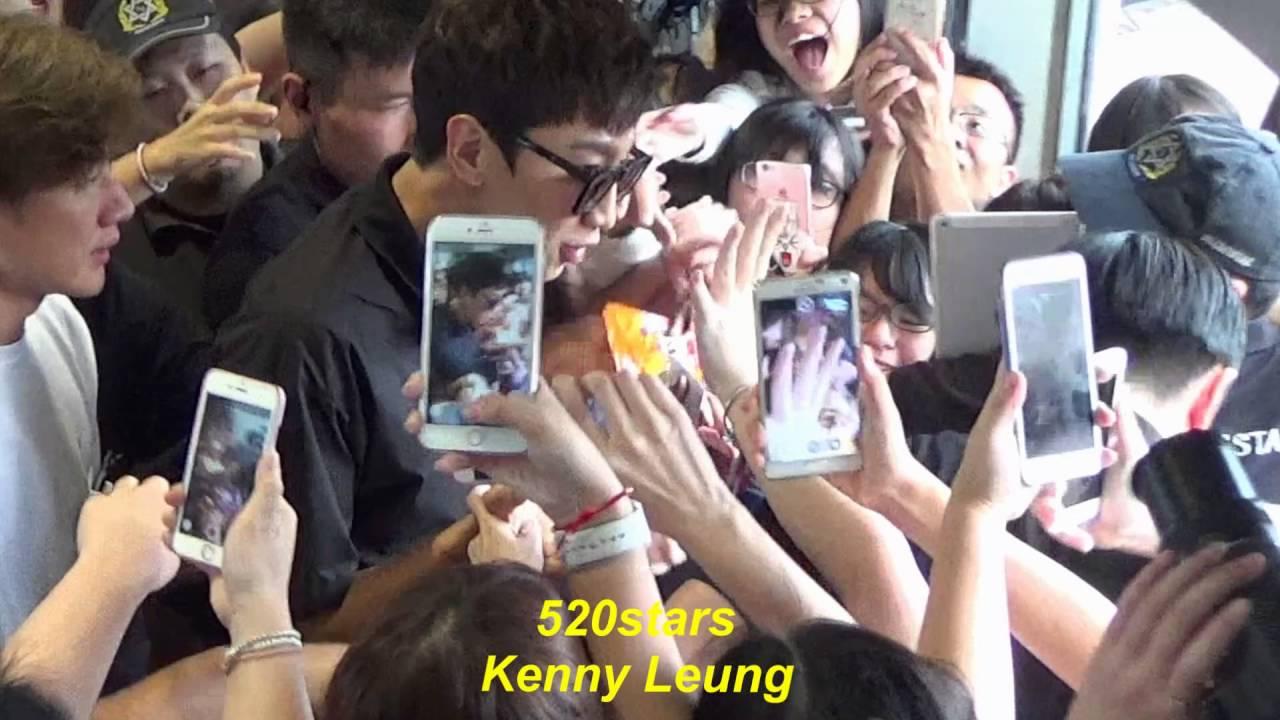 Running Man - 李光洙Lee Kwang Soo(이광수) Arrived Hong Kong Airport 20160611