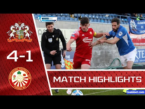 Glenavon Portadown Goals And Highlights