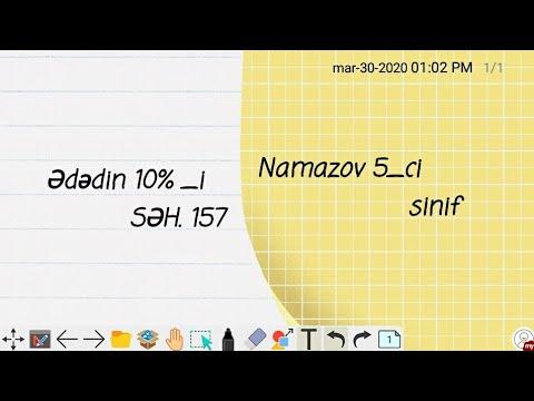5-ci sinif Riyaziyyatdan qiymətləndirmə test tapşırıqları Namazov test kitabçası.Perimetr