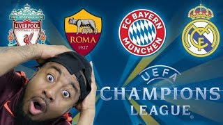 2017/18 UEFA Champions League Semi Final Draw Live Reaction