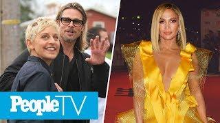 Ellen Degeneres & Brad Pitt Dated Same Ex, J.lo's Son To Walk Her Down The Aisle   Peopletv