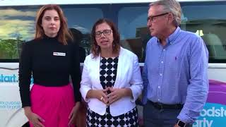 Visit to Goodstart ELC Nundah with Anika Wells and Wayne Swan