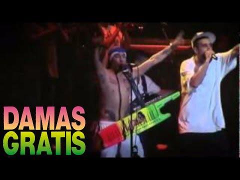 Damas Gratis Ft Dante Spinetta - Cumbia Callejera │ Luna Park - Recital En Vivo
