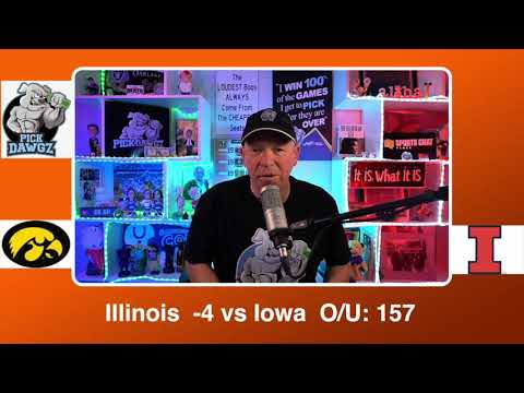 Illinois vs Iowa 3/13/21 Free College Basketball Pick and Prediction CBB Betting Tips