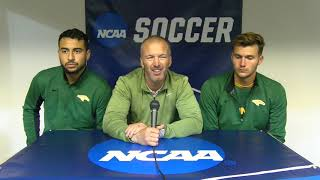 2018 NCAA D2 MSOC Tourney - Postgame Presser w/ Adam Reeves, Eduard Lucas and Jason Ramos (11/10/18)